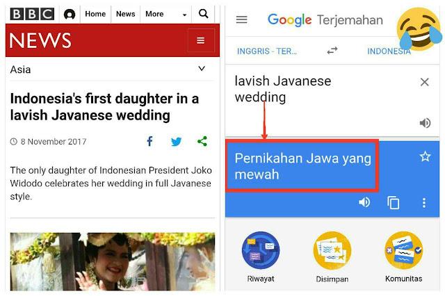 Media Internasional Nilai Pernikahan Kahiyang Pesta Mewah, Bukan Pesta Sederhana