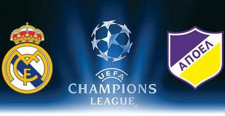 Αποτέλεσμα εικόνας για Real Madrid - APOEL Live Stream