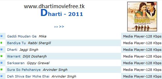 dharti hindi movie songs free