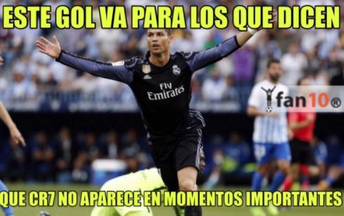 Cristiano Ronaldo no marca en partidos importantes