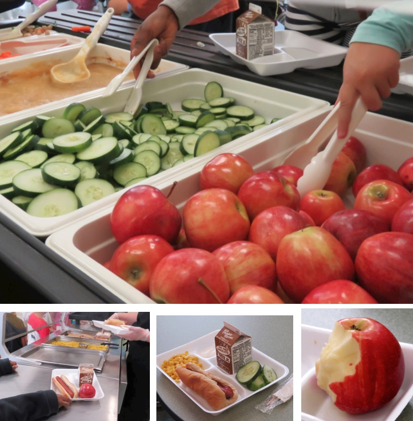 A2 Menu: Lunch At Burns Park School