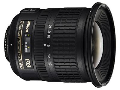 Nikon AF-S DX 10-24mm f/3.5-4.5G Nikon dslr lens