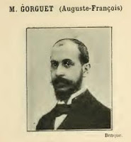 Photograph of the French artist Auguste François Gorguet