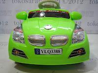 2 Mobil Mainan Aki Junior YLQ3388R BMW Remote Control