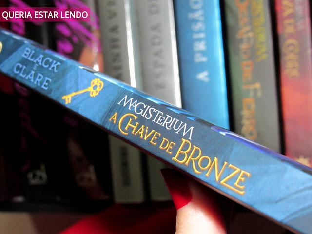 Resenha: Magisterium - Chave de Bronze