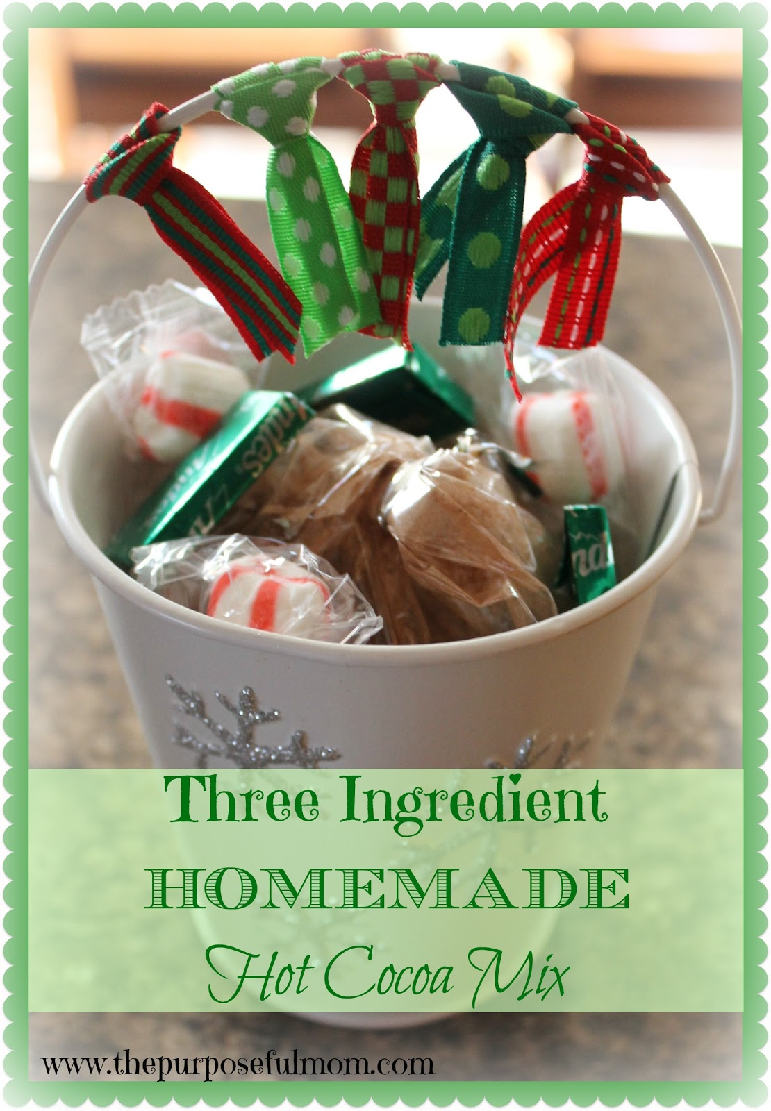 three ingredient hot cocoa mix a simple delicious diy christmas treat