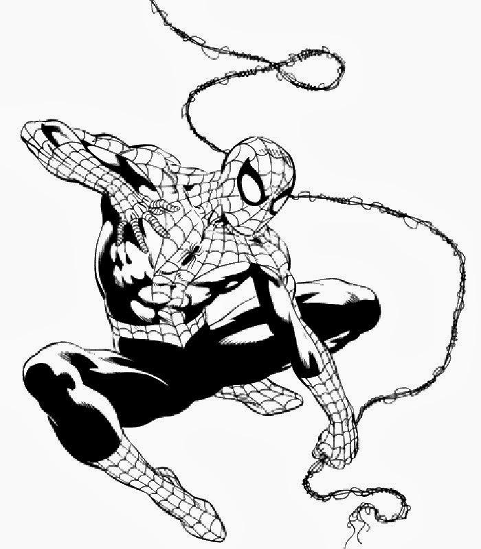 Disegni da colorare di spiderman 3 for Disegni da stampare spiderman