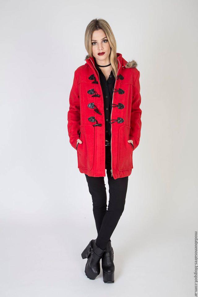 Abrigos invierno 2016 ropa de mujer. Moda invierno 2016.