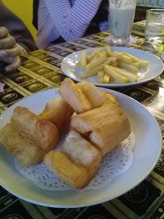singkong dan kentang