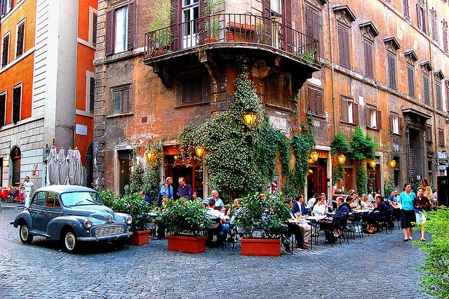 Rome cafe