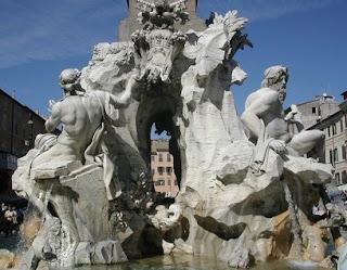 Bernin, 4 fleuves, rome