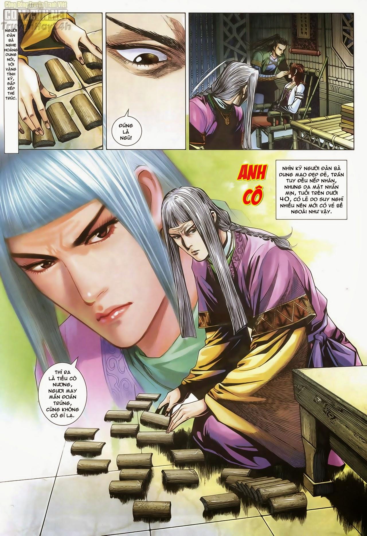 Anh Hùng Xạ Điêu anh hùng xạ đêu chap 70: hắc chiểu ẩn nữ trang 14