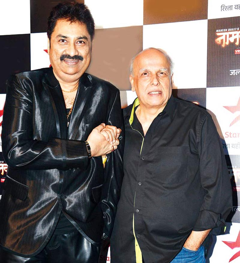 Kumar Sanu and Mahesh Bhatt