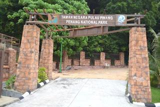 tempat wisata Taman Negara Penang Malaysia