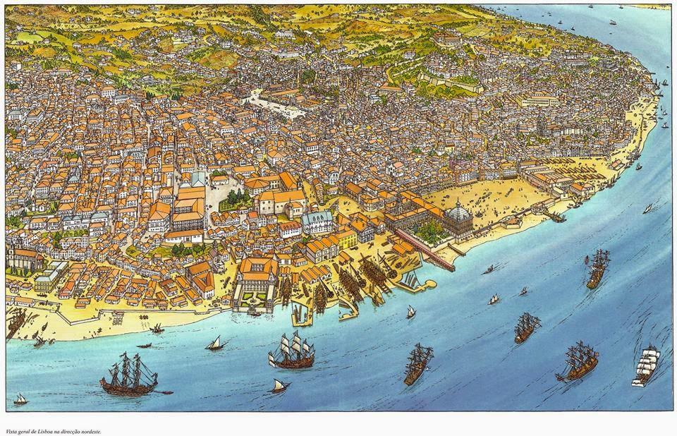 rua do século lisboa mapa RUAS DE LISBOA ALGUMA HISTÓRIA: TERREIRO DO PAÇO [ III ] rua do século lisboa mapa
