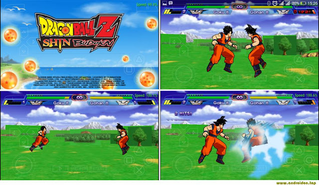 Gambar preview game Dragon Ball Z Shin Badokai di Android