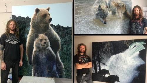00-Regan-Johnston-Animal-Paintings-www-designstack-co