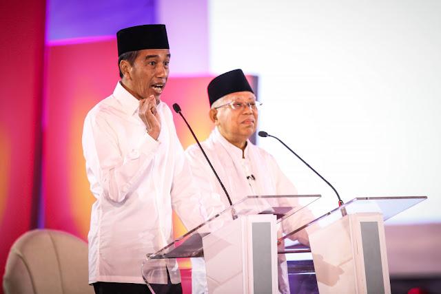 Debat Perdana, Ma'ruf Amin Seolah jadi Beban Jokowi