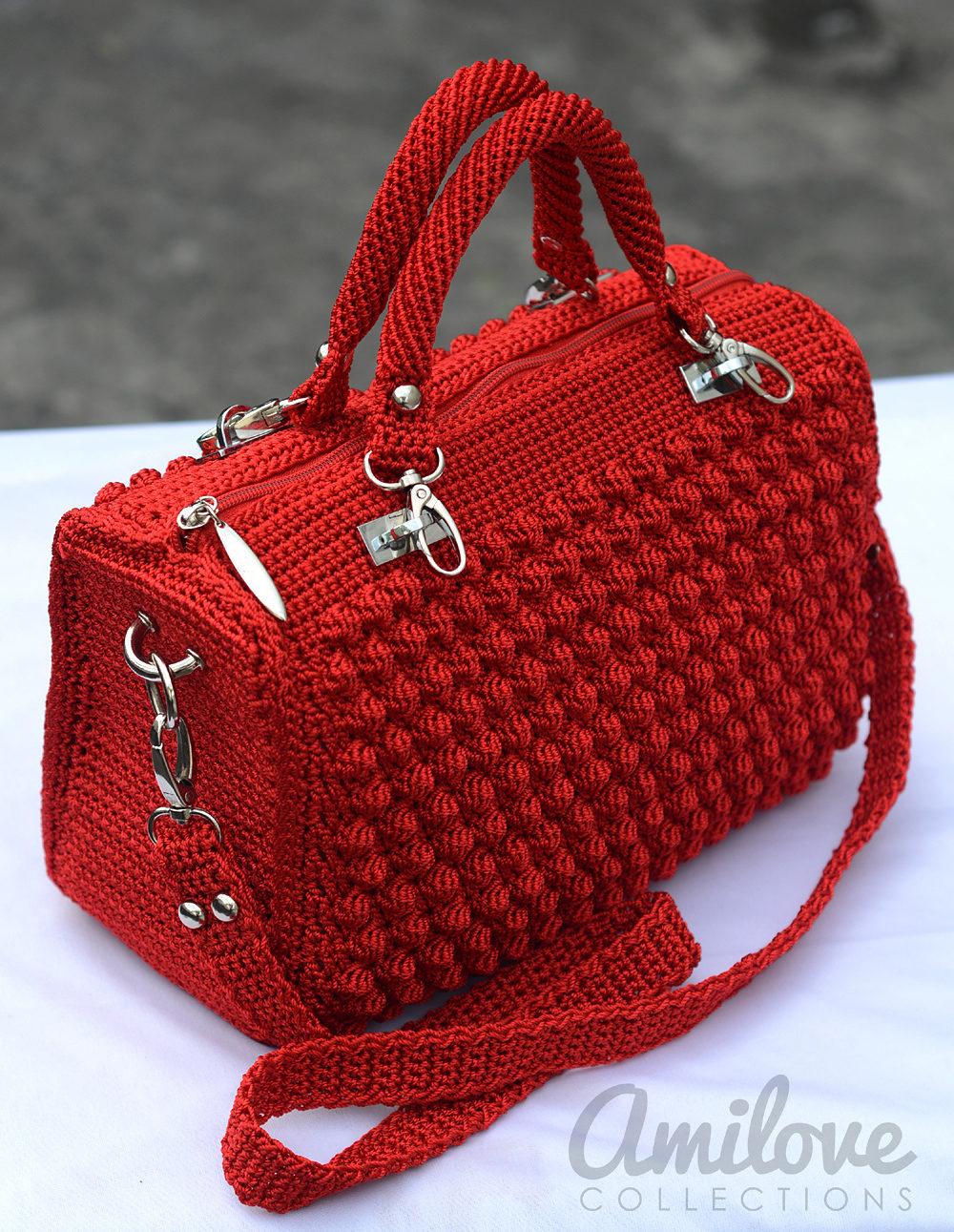 Ergahandmade Crochet Bag Diagram Step By Step Tutorials