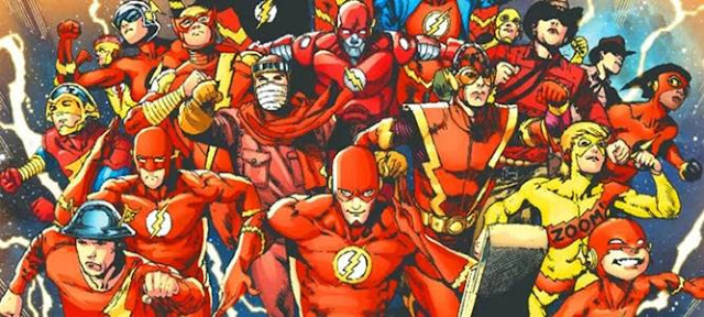 all the flash from all earth dc multiverse