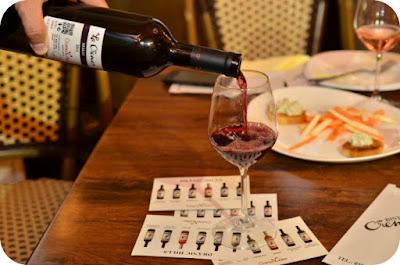 Merlot - vinul rosu de la degustare