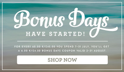 Get A Stampin' Up! UK Coupon between 7 & 31 July 2016 - Buy Stampin' Up! here