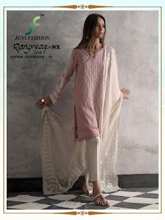 Juvi Rangreza vol 7 nx Pakistani Suits Eid collection