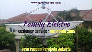 Toko Pasang Parabola Kebayoran Baru ~ Family Elektro