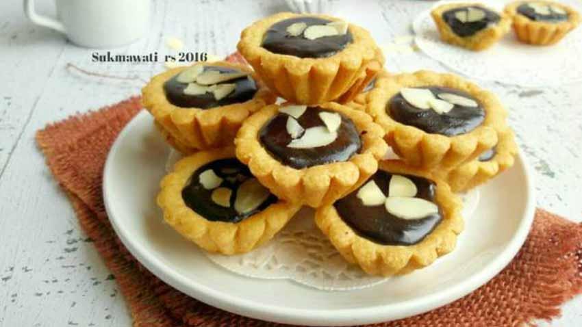 Resep Pie Kacang Cokelat Renyah Ala Bunda Bunda Sukmawati Rs