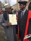 Photo: NUC chairman celebrating son who graduate in UK while Asuu is on strike🙄🙄