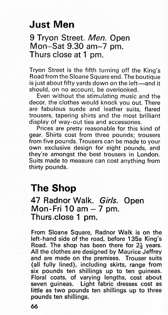 1960s Carnaby Street Fashion Blogger Book Review