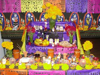 cómo hacer un altar de muertos