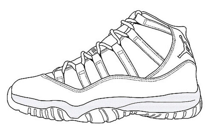How Do You Draw A Van Shoe