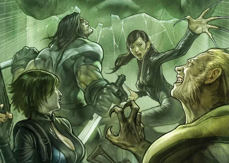 Marvel Debuts Weapon H; Hulk And Wolverine Mash-Up Character.