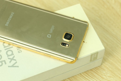 galaxy note 5 vàng gold
