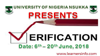 How to do UNN Online student verification