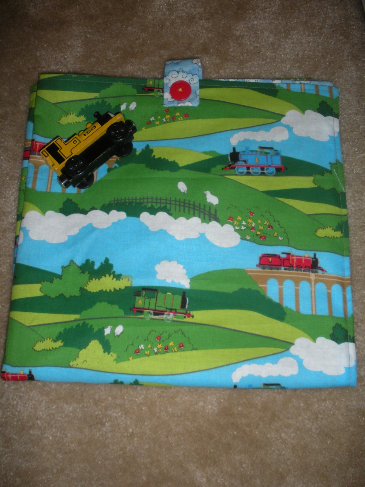 Domestic 360 Thomas The Tank Engine Play Mat Diy Sewing