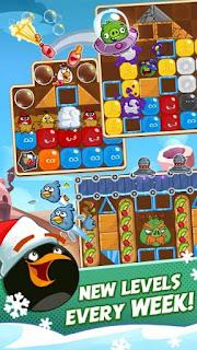 Angry Birds Blast Apk v1.3.0 Mod (Unlocked All Levels)