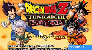 Dragon Ball Tenkaichi Tag Team Xenoverse 2 PPSSPP ISO