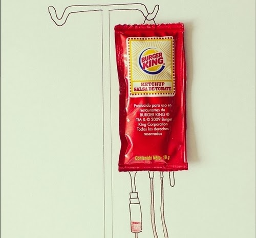 12-Ketchup-Transfusion-Illustrator-Javier-Pérez-aka-cintascotch-Design-in-Real-World