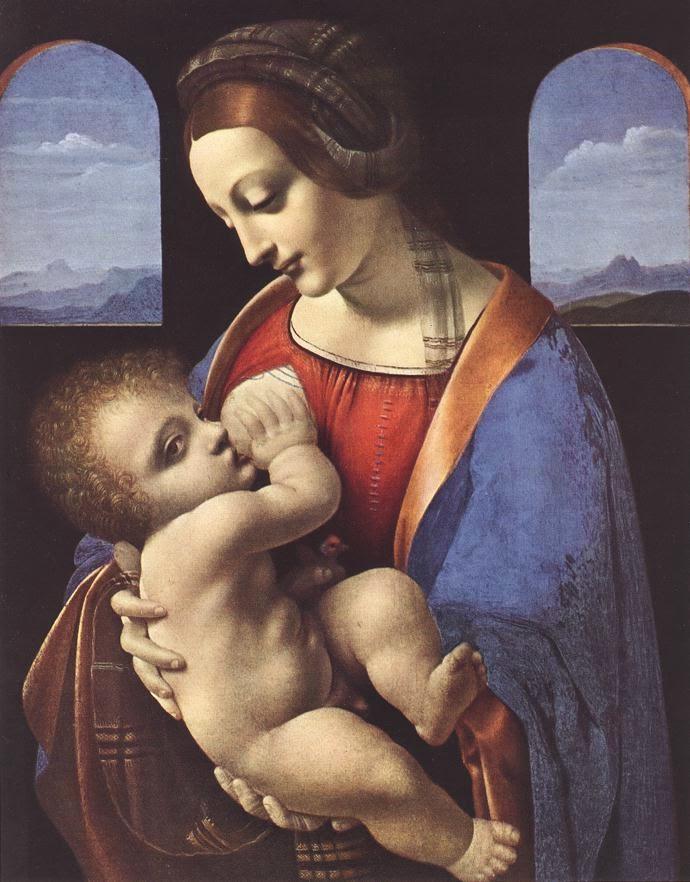 Madona Litta - Leonardo Da Vinci | O maior artista de todos os tempos