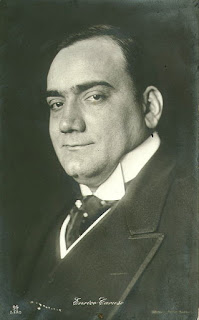 Enrico Caruso, victim of  a blackmail attempt foiled by Petrosino