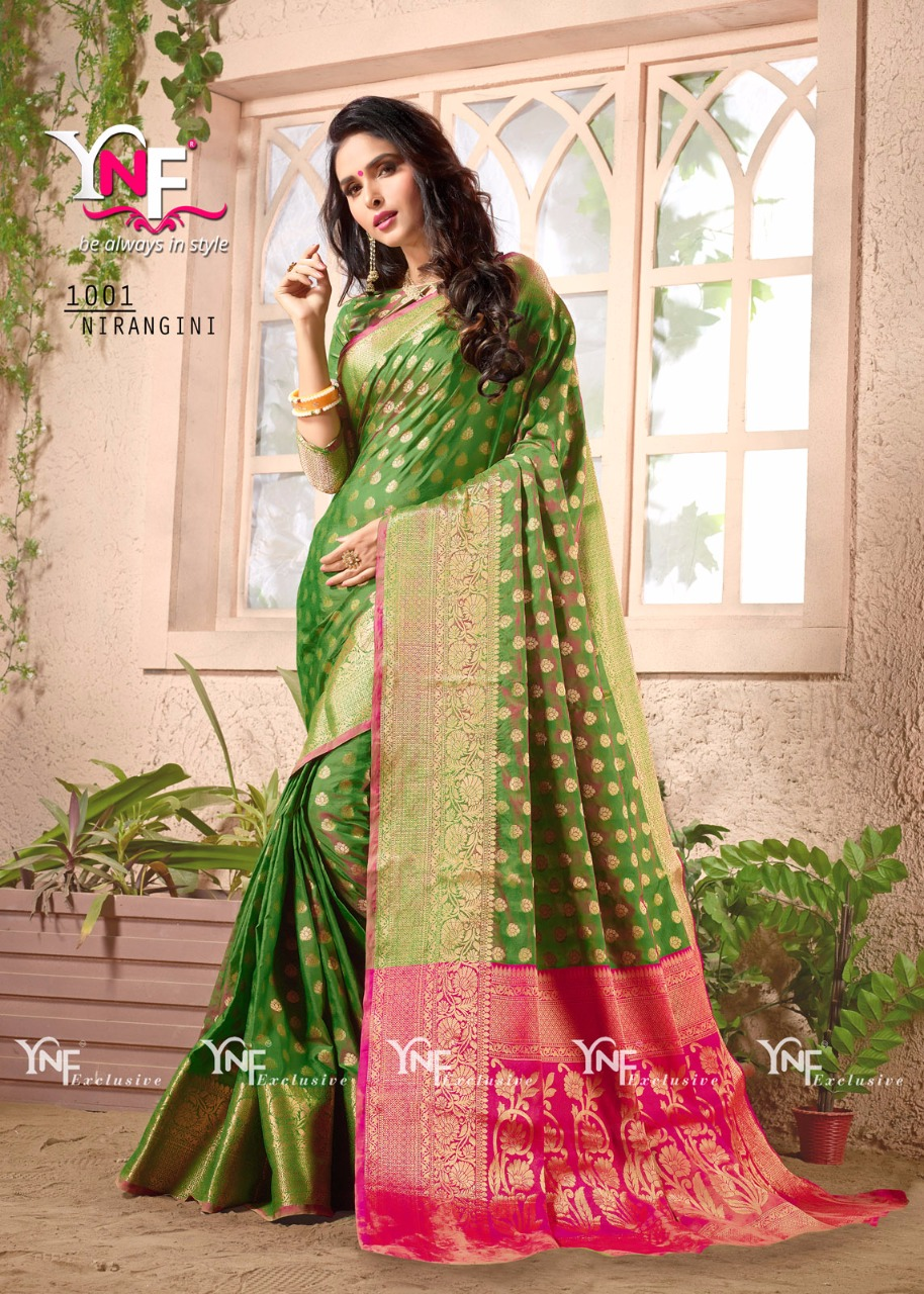 Nirangini – New Arrival Designer Cotton Silk Saree
