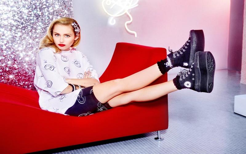 Miley Cyrus Converse İçin Tasarladı