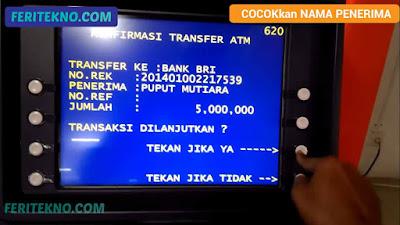 cara transfer bni ke bank lain 11