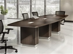 Global Total Office Zira Powered Conference Table