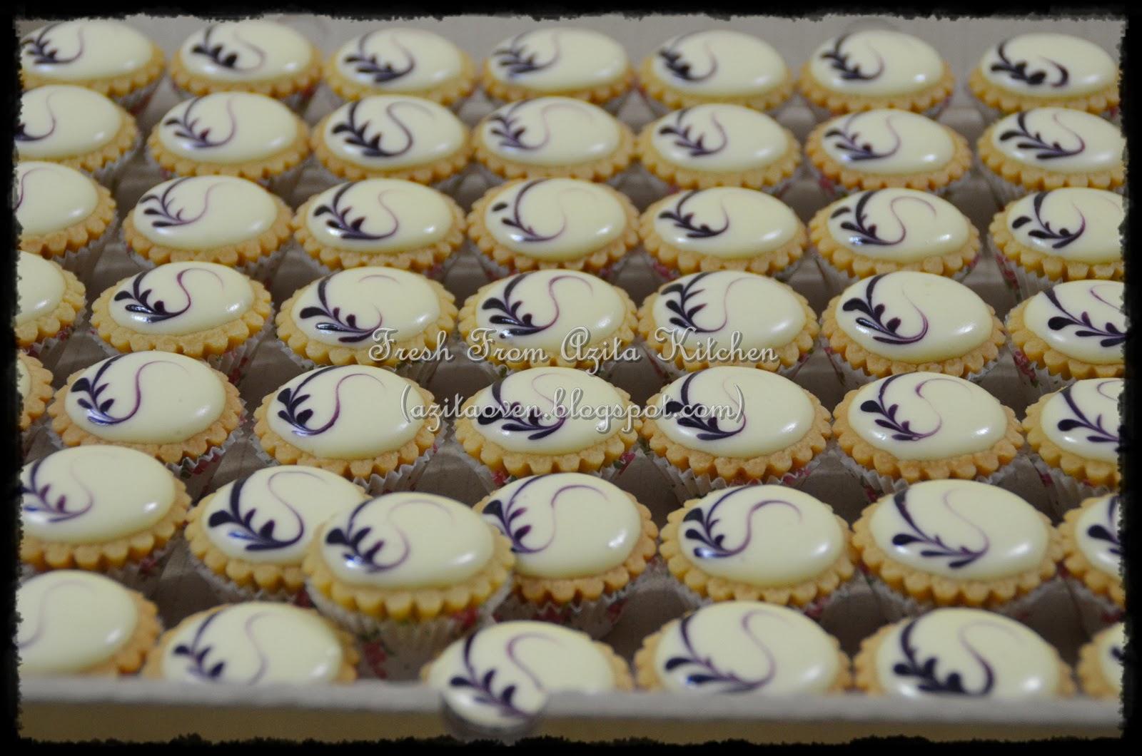 Blueberry Cheese Tart Tempahan Daripada Shidah