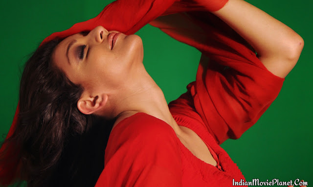 Kajal agarwal hot photo shoot stills red dress hd