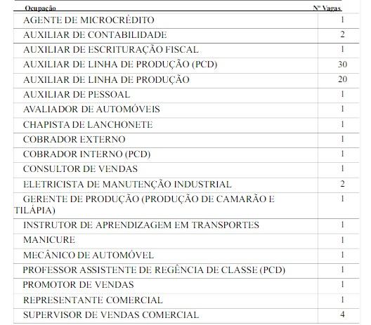 ccecdbb39a980 Veja as vagas de emprego disponíveis no SINE IDT Sobral, localizado na Rua.  Cel. José Silvestre, 201 – Centro – Fone  (88) 3695.3117.