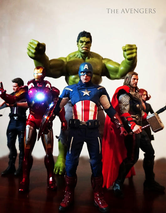 Good Day 2015! Avengers (Hot Toys) Assemble!